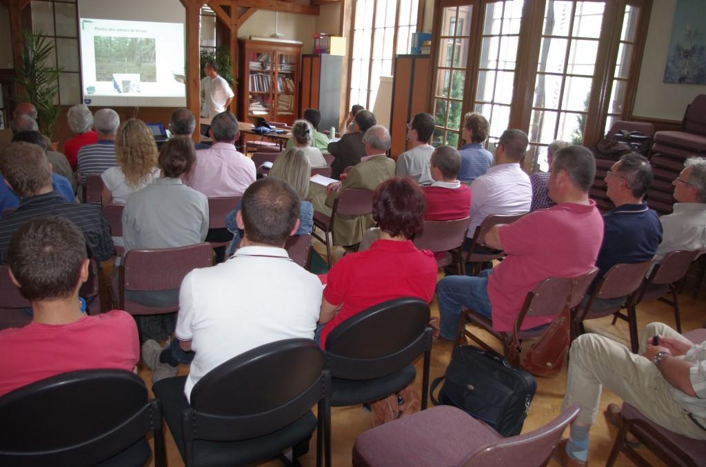 1er comite de concertation - salle de reunion du Pays de Grande Sologne